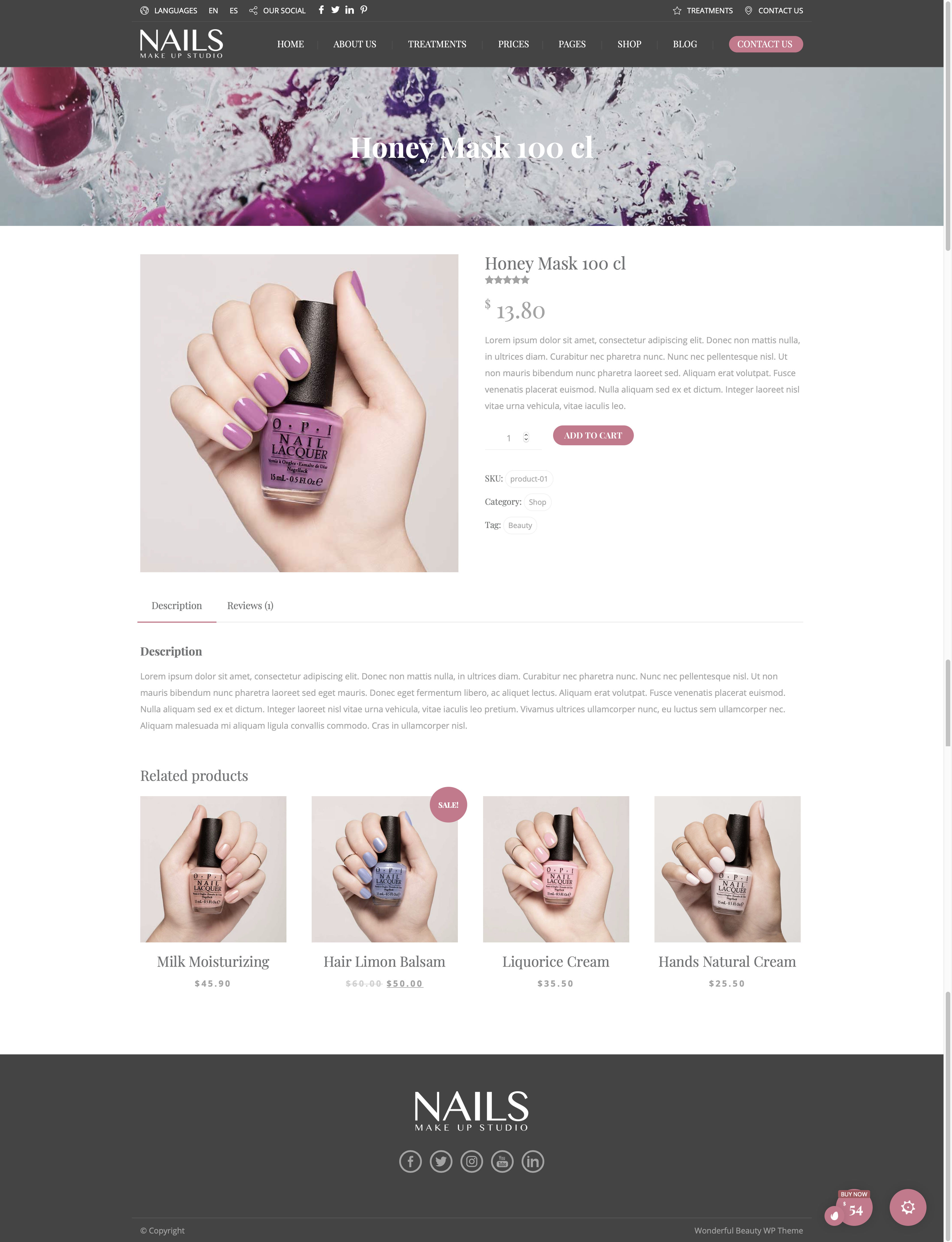 Beauty Wellness - Nails - Product