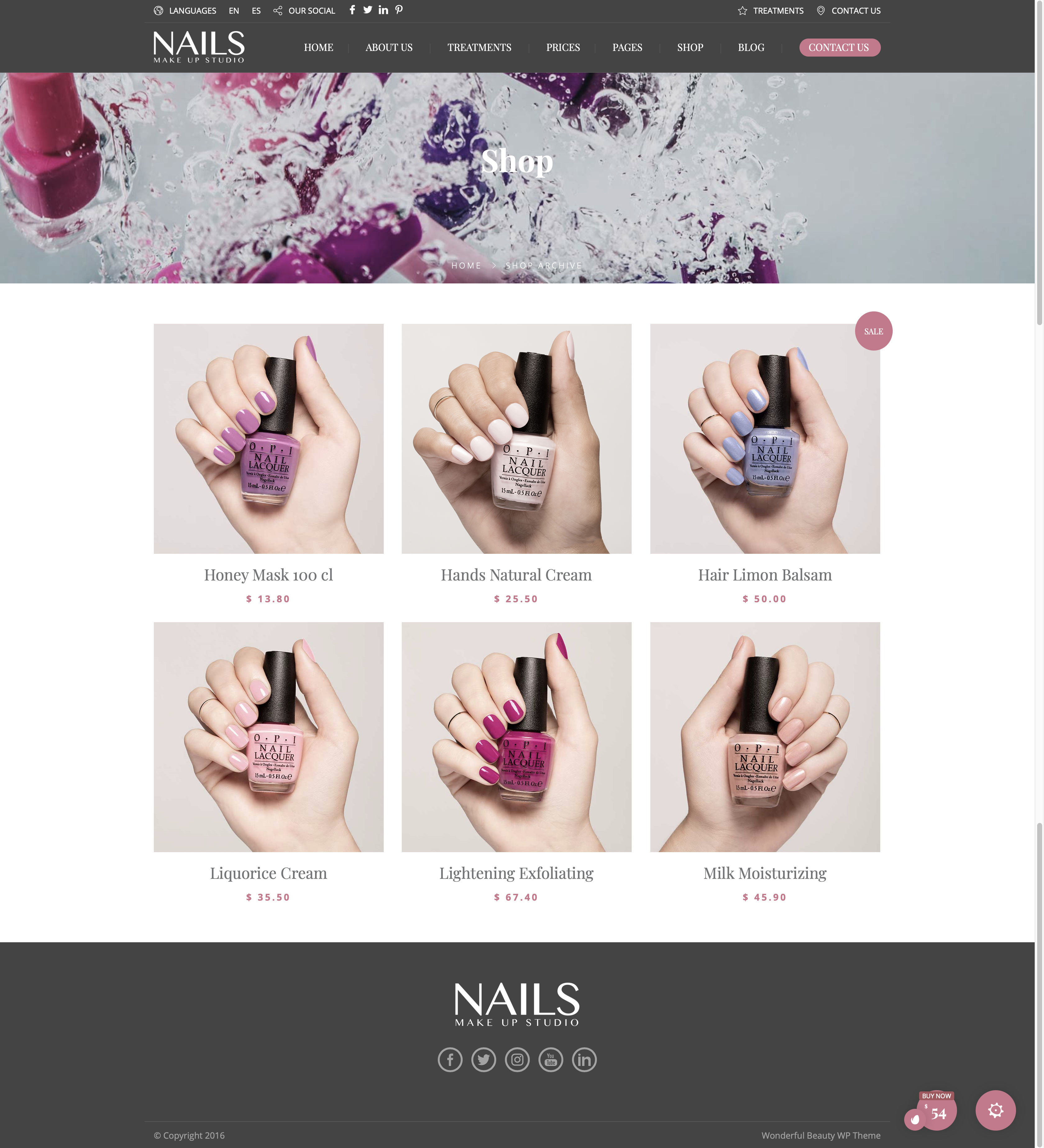 Beauty Wellness - Nails - Shop